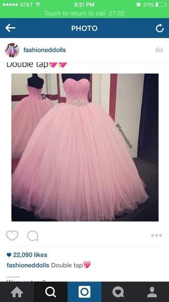 dress dresse ball gown pink ball gown dresses pink dress princess dress