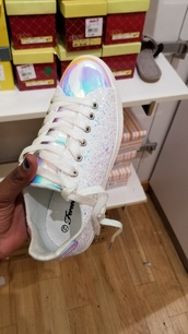 shoes,iridescent
