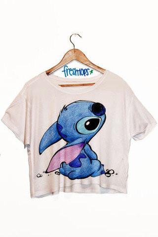 Lil love crop shirt