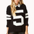 Fresh Open-Knit Varsity Sweater | FOREVER 21 - 2000093114