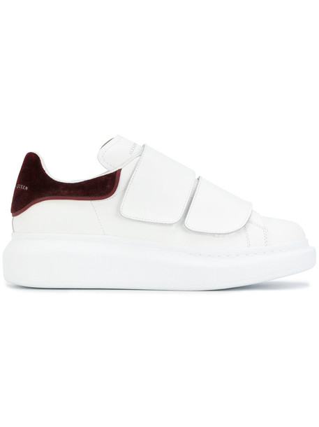 Alexander Mcqueen women sneakers leather white shoes
