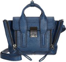 3.1 phillip lim blue mini pashli satchel
