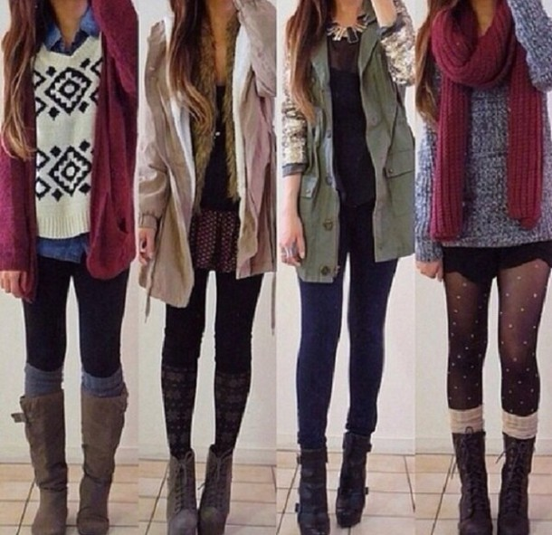 jacket winter outfits ...