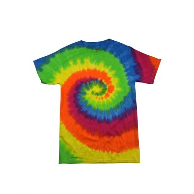 Colourtone Rainbow Tie Dye Tee