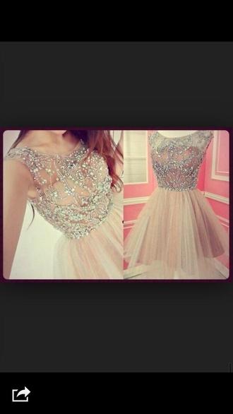 dress silver dress peach dress short dress tumblr dress prom dress gliter dresses