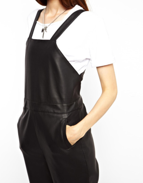 shirt dungarees dress