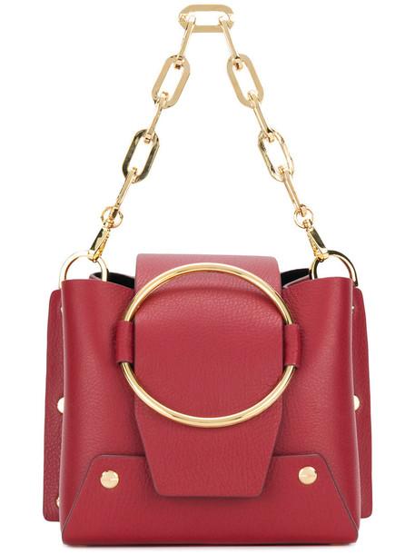 Yuzefi mini women bag leather red
