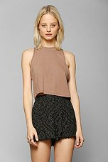 Urban Renewal Cropped Tank Top - Urban Outfitters