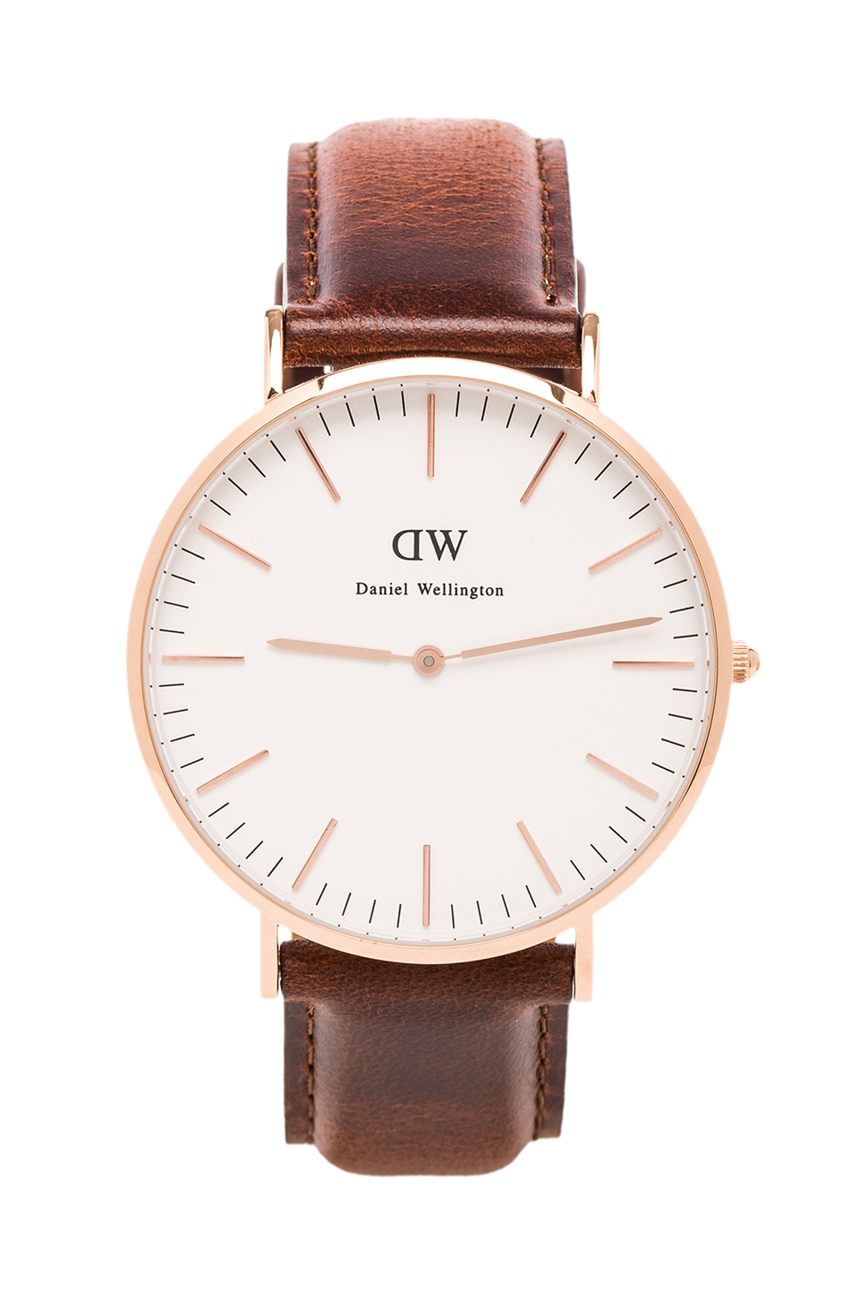 Daniel wellington st andrews 40mm in rosegold from revolveclothing.com