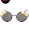Bandit floral sunglasses - black