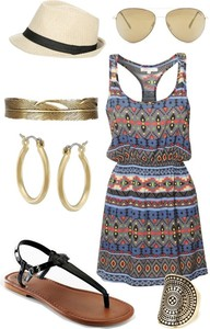 tribal pattern aztec cute summer summer outfits dress summer dress tribal print dress cute dress
