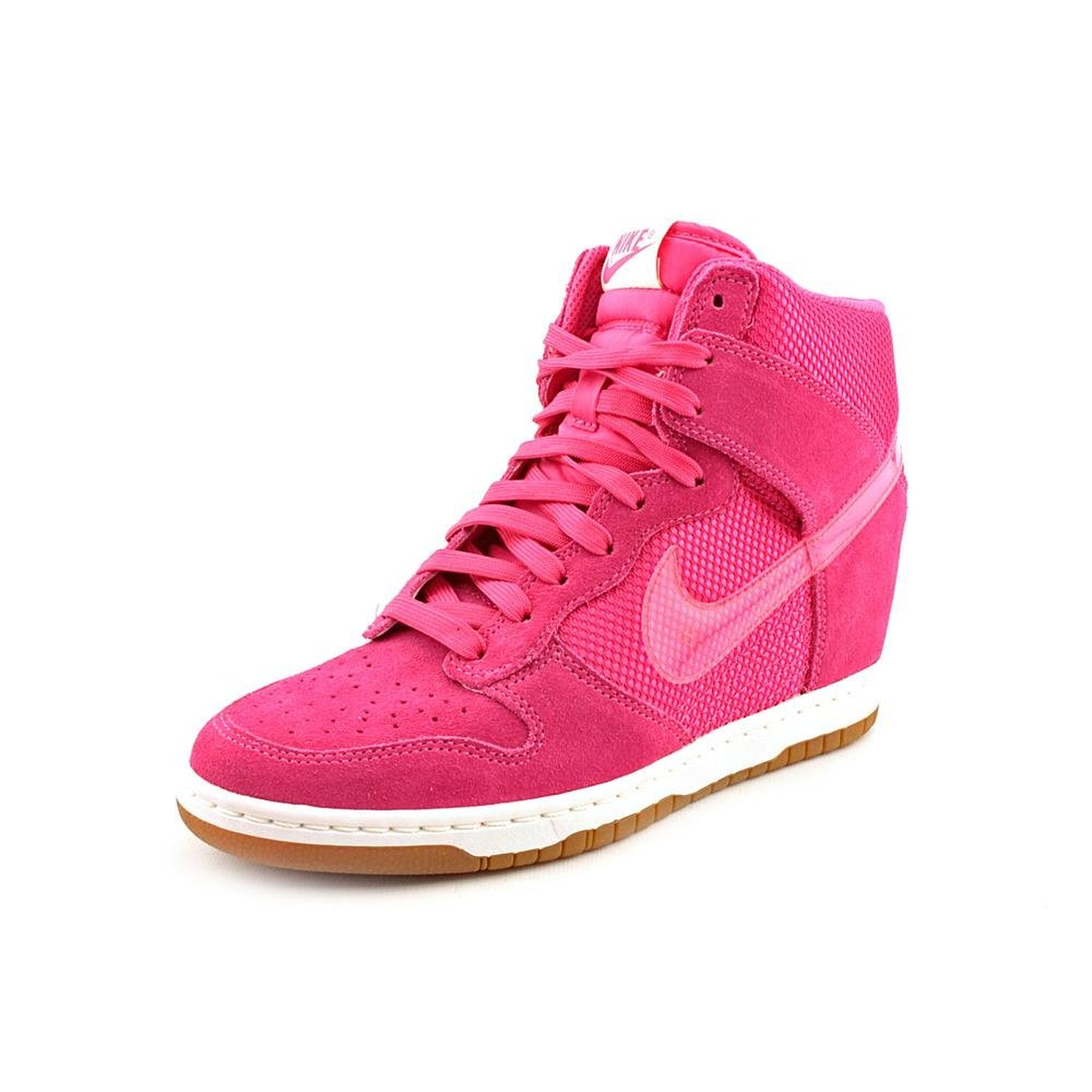 908e8393cb4e5 Amazon.com: Nike Dunk Sky Hi Womens Size 8 Pink Mesh Sneakers Shoes UK 5.5  EU 39: Shoes: Shoes