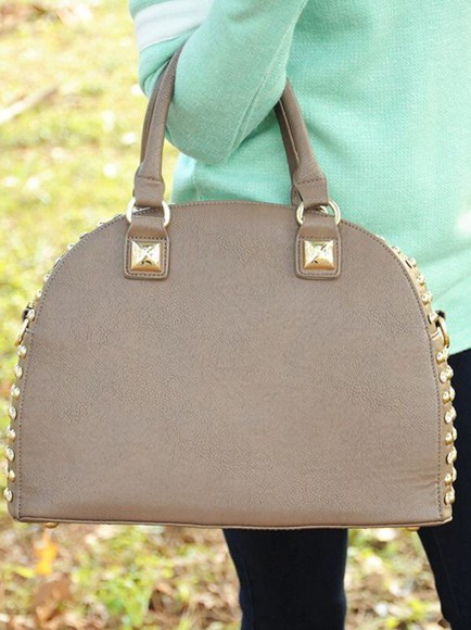bag all that glitters mocha purse