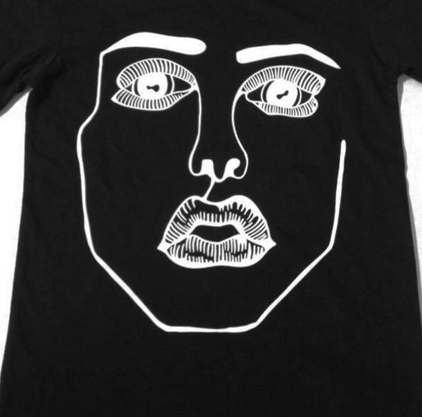 shirt black t-shirt grunge