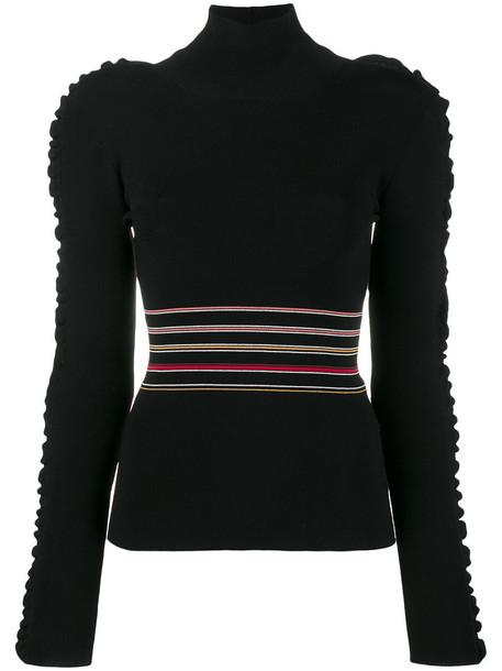 Roksanda sweater turtleneck turtleneck sweater women black