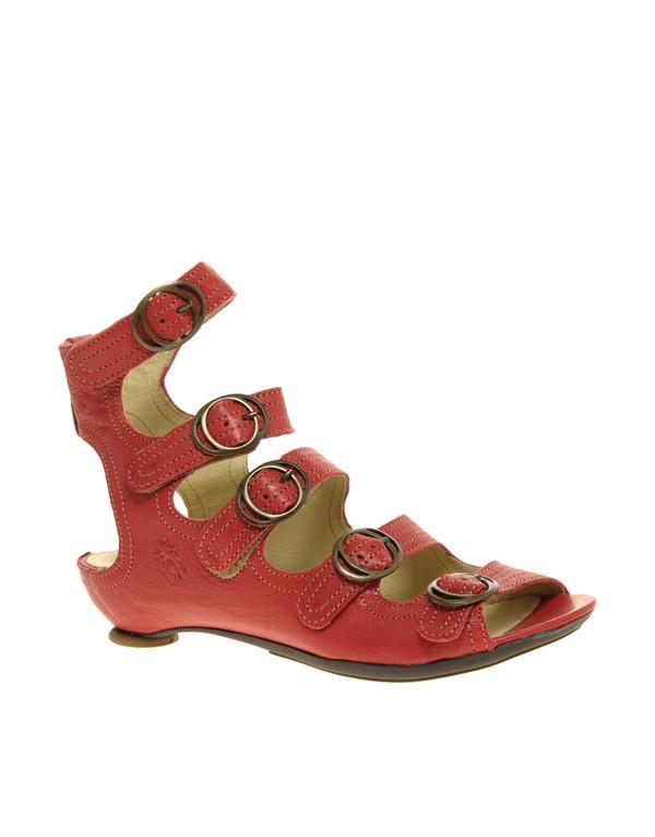 shoes gladiators spartiate bride sandale sandals flat low heels sandals leather buckles straps shoes