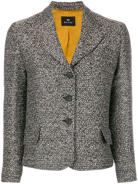 PS By Paul Smith jacket women cotton grey