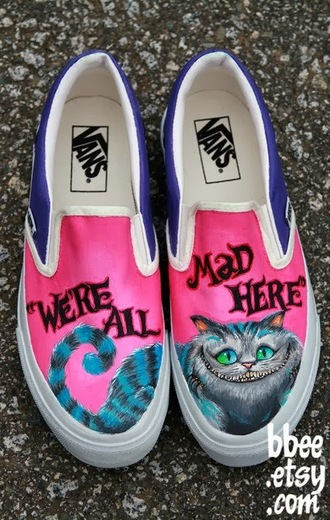 shoes alice in wonderland vans