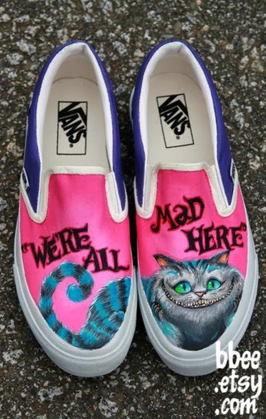 9790d8916ed shoes alice in wonderland vans