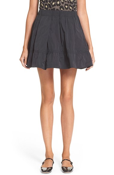 Marc SkirtNordstrom Faille Ruffle Jacobs By 4ARqLc35j