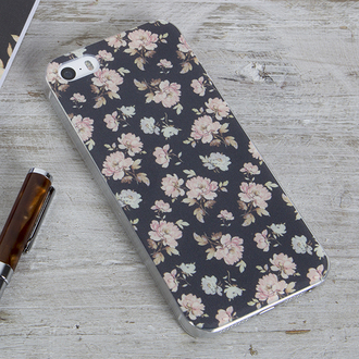 phone cover rose french floral flowers cute pretty accessory gift ideas iphone5 case floral phone case