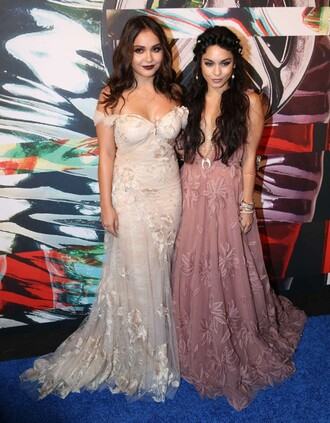 dress lace dress wedding dress vanessa hudgens stella hudgens vma prom dress gown