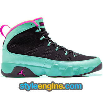 shoes black air jordan 9 black south beach south beach air jordans jordans air jordan 9
