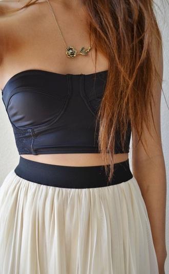 skirt high waisted skirt maxi skirt top