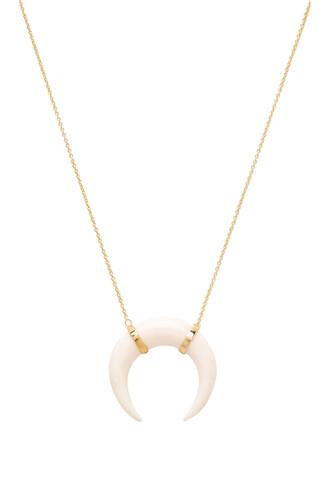 necklace pendant metallic gold