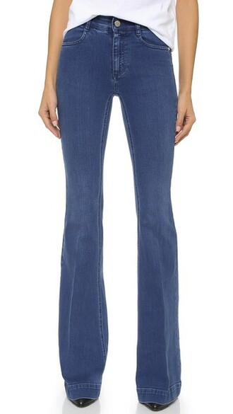 jeans flare jeans flare pale blue