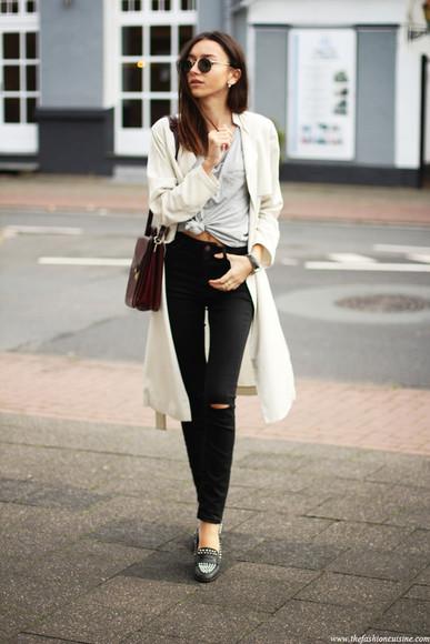 t-shirt jeans jewels blogger the fashion cuisine bag sunglasses