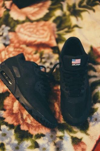 american flag shoes black nike sneakers nike sneakers air max nike air nike air force one nike air max 1 nike air max black nike nike running shoes