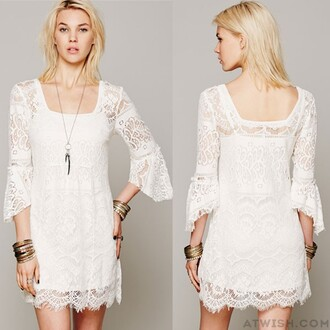 dress lace dress fashion women