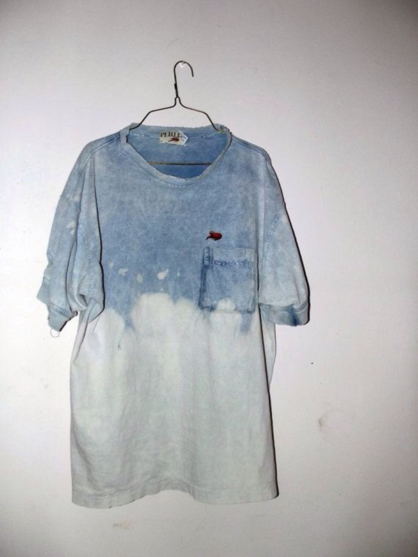 acid wash grunge t-shirt shirt 90s style tie dye jeans