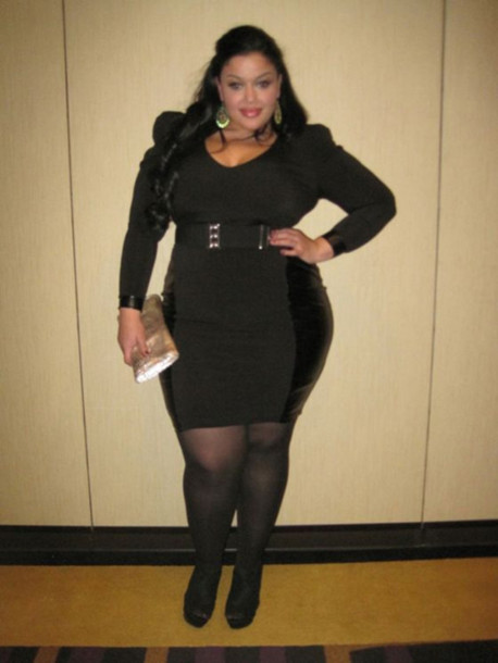 Cute Nlack Plus Size Dresses Style Plus Dress