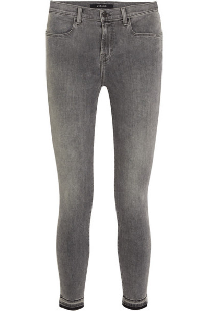 J BRAND jeans skinny jeans cropped high