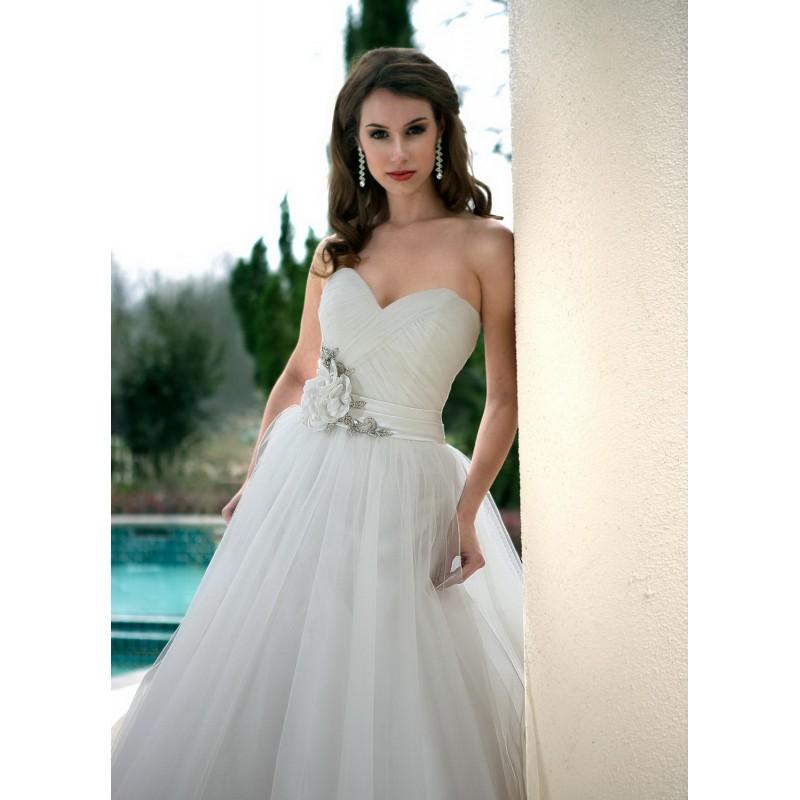 Da Vinci 8445 Bridal Gown (2012) (DV12_8445BG) - Crazy Sale Formal Dresses Special Wedding Dresses Unique 2017 New Style Dresses