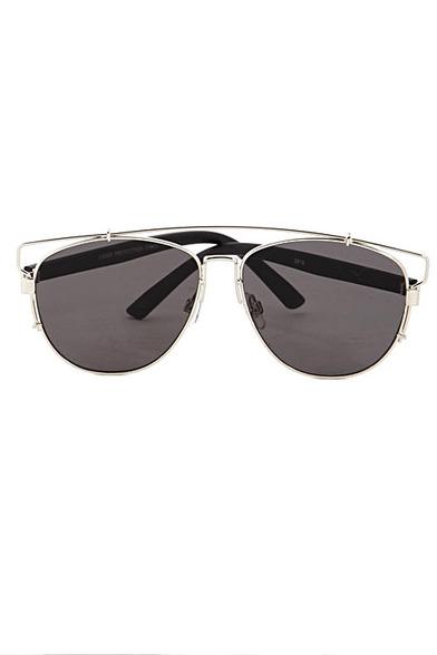 Techno Metal Frame Sunglasses