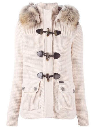 jacket fur women nude wool