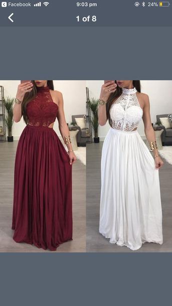 dress formal dress pretty lace dress