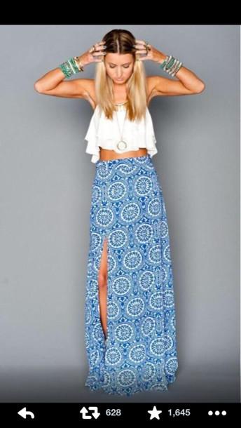 skirt maxi skirt dress blouse top