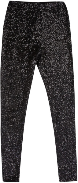 Tfnc legging sequin high waist in black