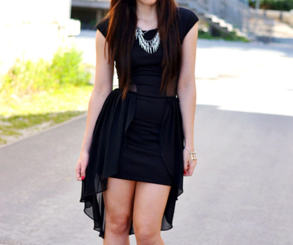 dress little black dress black mini dress black