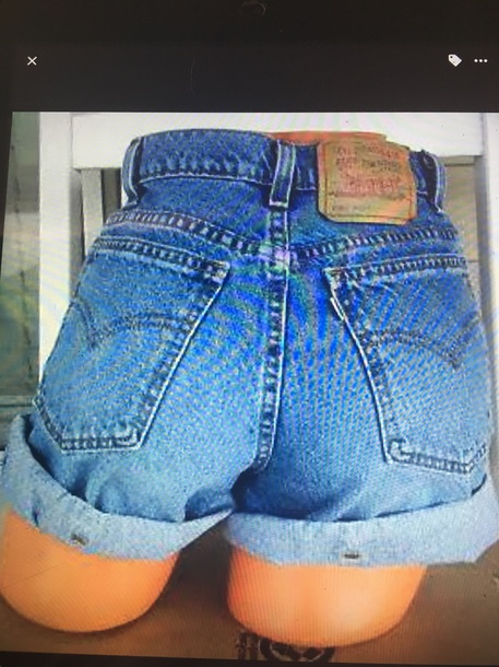 shorts high waisted vintage relaxed