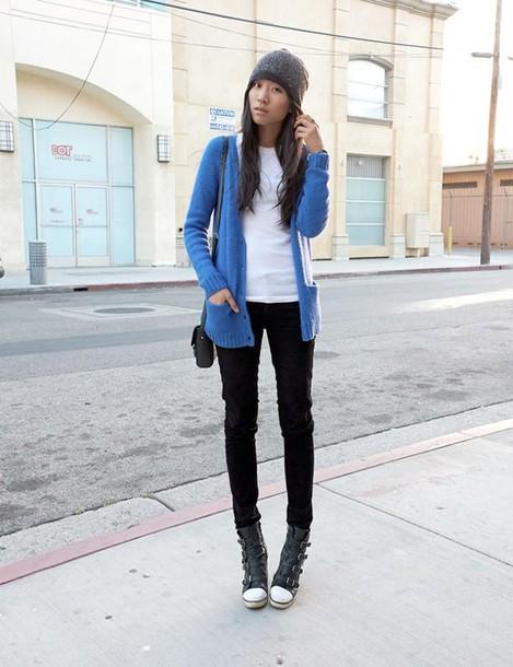 dance in my closet sweater jeans hat