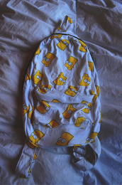 bag,bart simpson,the simpsons,white,tumblr