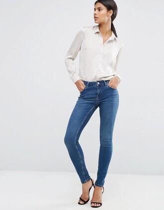 jeans denim classic asos skinny jeans