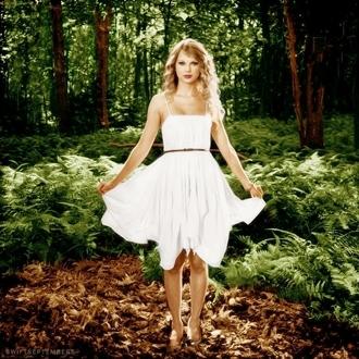 white dress taylor swift