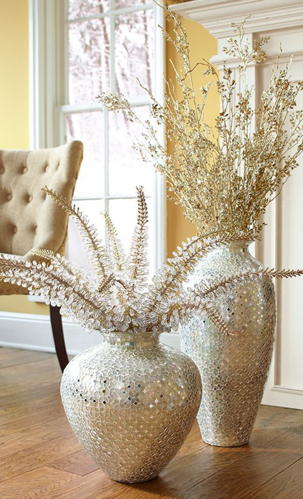 home accessory silver vases decorative vases vases home decor vase