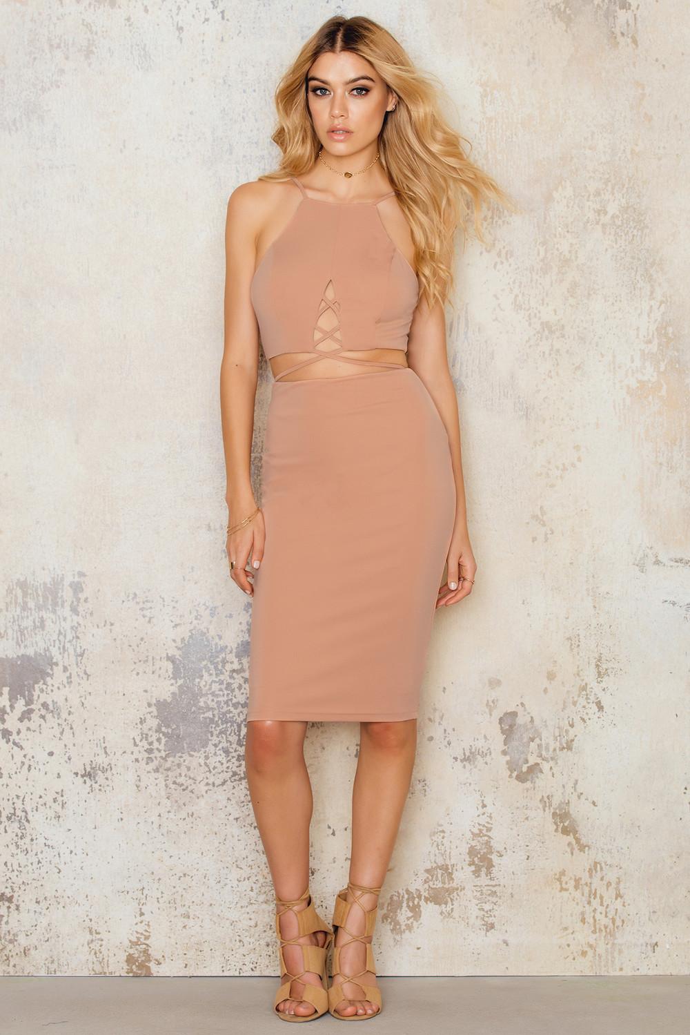 Passion Fusion Body Con Dress
